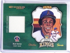 2003 Donruss Jersey Kings Studio Series Rod Carew #D24/25 #JK16 *59732