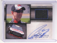 2014 Press Pass Redline Greg Biffle autograph auto firesuit #d03/10  *52324