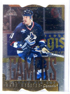 1997-98 Leaf Fractal Matrix Mark Messier Die Cuts GM BX #170 *44378