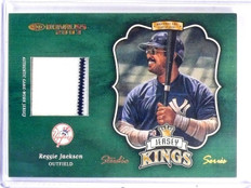2003 Donruss Jersey Kings Studio Series Reggie Jackson #D19/25 #JK5 *59735