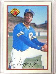 1989 Bowman Ken Griffey Jr. rc rookie #220 *40403