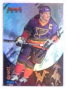 1994-95 Finest Bowman's Best Refractor Brett Hull #15 *65852