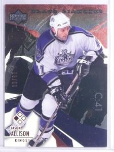 2003-04 UD Black Diamond Red Jason Allison #D19/50 #11 *65859