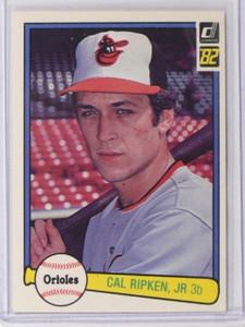 1982 Donruss Cal Ripken Jr. rc rookie #405 *38144