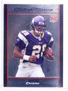 2007 Bowman Chrome Adrian Peterson Rookie RC #BC65 *64221