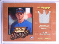2002 Donruss Jersey Kings Studio Series Alex Rodriguez #D09/50 #JK1 *59745