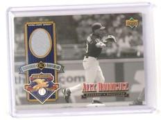 2001 Upper Deck Legends Alex Rodriguez Centennial Aniversary Jersey *45342