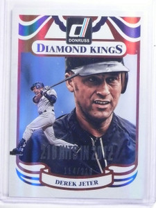 2014 Donruss Stat Line Season DK Diamond Kings Derek Jeter #D114/216 #3 *59756