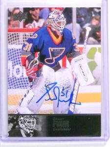 13-14 Ultimate Collection 97 Legends Grant Fuhr autograph auto #AL-89 *44718