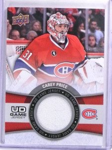 2015-16 Upper Deck Game Jerseys Carey Price Jersey #GJCP *59456
