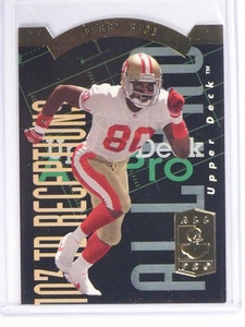 1993 Upper Deck SP All-Pros Diecut Jerry Rice #AP9 *49651