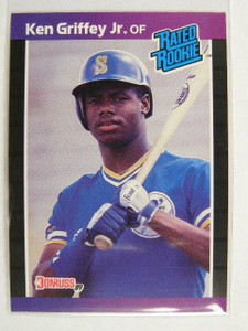 1989 Donruss Ken Griffey Jr. rc rookie #33 *24589