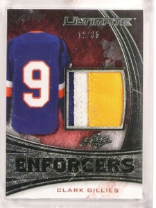 2015-16 Leaf Ultimate Enforcers Clark Gilles 3clr patch #D12/35  *53315