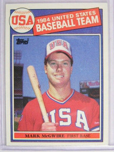 1985 Topps Mark Mcgwire rc rookie #401 *22972