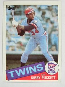 1985 Topps Kirby Puckett rc rookie #536 *20491