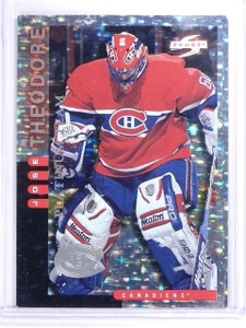 1997-98 Score Canadiens Platinum Team Jose Theodore #3 RARE SP *63670
