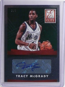 2015-16 Donruss Elite Green Tracy McGrady Autograph #D3/5 #ESTM *65160