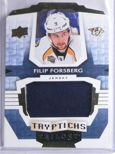 2016-17 UD Trilogy Tryptiches Filip Forsberg Jersey #D134/249 #TNASH3 *65830