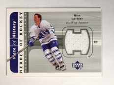 02-03 Upper Deck Piece of History Heroes #HHMG Mike Gartner jersey *52058