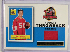 2005 Topps Throwback Relics Alex Smith rookie jersey #RT-AS *31803