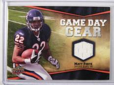 2009 Upper Deck Game Day Gear Matt Forte jersey #NFL-FO *31613