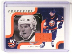 2002-03 BAP Memorabilia Franchise Players Alexei Yashin #FP19 sp/40 *47195