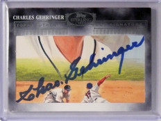 2006 Topps Sterling Cuts Charles Gehringer autograph auto #CUT-79 *48708