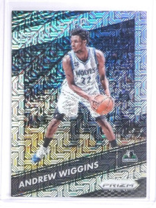 2016-17 Panini Prizm First Step Mojo Andrew Wiggins #D20/25 #9 *60575