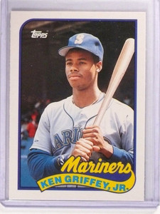 1989 Topps Traded Ken Griffey JR. Rookie RC #41T *51220