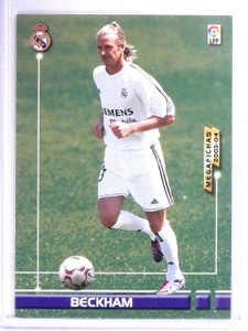 2003-04 Panini David Beckham #442 Soccer Card *62960