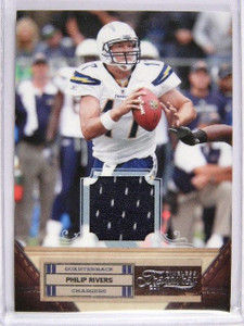 2011 Timeless Treasures Philip Rivers jersey #D01/99 *29717