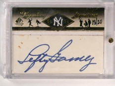 2008 Sp Legendary Cuts Signatures Left Gomez autograph auto #D08/20 #LC-LG *4606