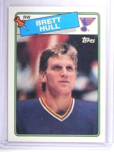 1988-89 Topps Brett Hull Rookie RC #66 *62136