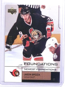 2002-03 UD Foundations Jason Spezza Rookie RC #D0922/1250 #164 *63177