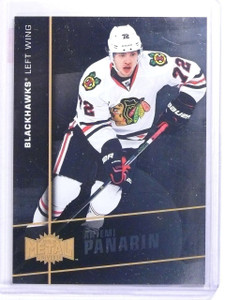 2015-16 Fleer Showcase Metal Universe Artemi Panarin Rookie #MU9 *63180
