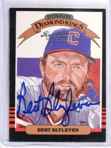 2004 Donruss Timelines Recollection Collection Autograph Bert Blyleven /40 *5813