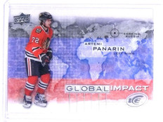 2015-16 Upper Deck Ice Global Impact Artemi Panarin Rookie RC #GIAP *63172