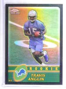 2003 Topps Chrome Black Refractor Travis Anglin Rookie RC #D068/100 #202 *62559