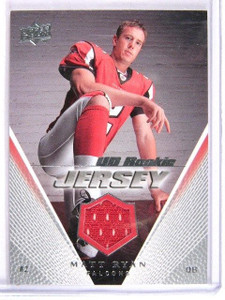 2008 Upper Deck Matt Ryan Rookie jersey *28770
