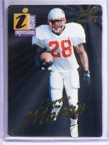 1995 Action Packed Rookies/Stars Instant Impressions Curtis Martin Rookie *62538