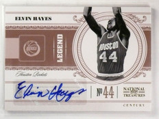 2010-11 Playoff National Treasures Elvin Hayes Autograph #D47/49 #105 *56523