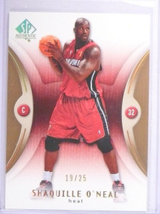2006-07 UD SP Authentic Extra Limited Shaquille O'Neal #D19/25 #43 *64255
