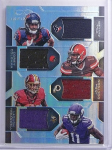 2016 Panini Infinity Fuller Coleman Doctson Treadwell Jersey #D65/88 #RQM4 *6553