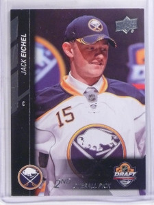 2015-16 Upper Deck NHL Draft Pick Jack Eichel rc rookie #Sp-2 *57341