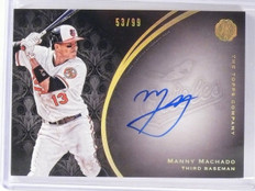 2016 Topps The Mint Manny Machado autograph auto #D53/99 #FA-MM *56391