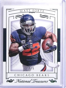 2015 Panini National Treasures Emerald Matt Forte #D1/5 #57 *59888