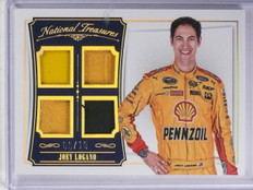 2016 National Treasures Joey Logano Quad Firesuit Sheet Metal #D09/10 #QMJL *653