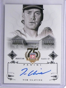 2014 Panini Hall of Fame Tom Glavine autograph auto #92 *55953