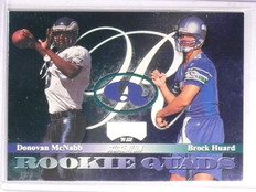 1999 Playoff Contenders Quads Huard McNabb Culpepper Covington Rookie #RQ7 *6703