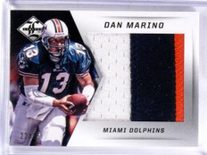 2013 Panini Limited Dan Marino jumbo 3 color patch #D22/25 #3 *57408